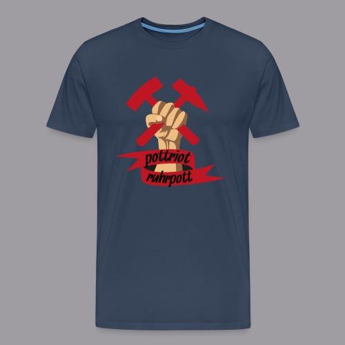 Pottriot Navy Herren - Männer Premium T-Shirt