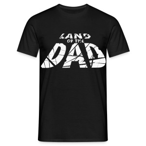 LAND of the Dad Simple Logo Shirt - Men's T-Shirt