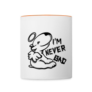 I'm Never Bad Bully - Contrasting Mug