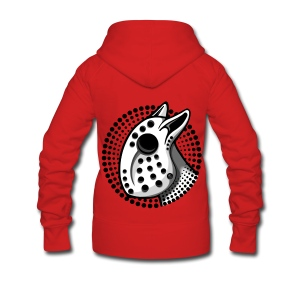 EBT Hockey Mask Graphic - Women's Premium Hooded Jacket