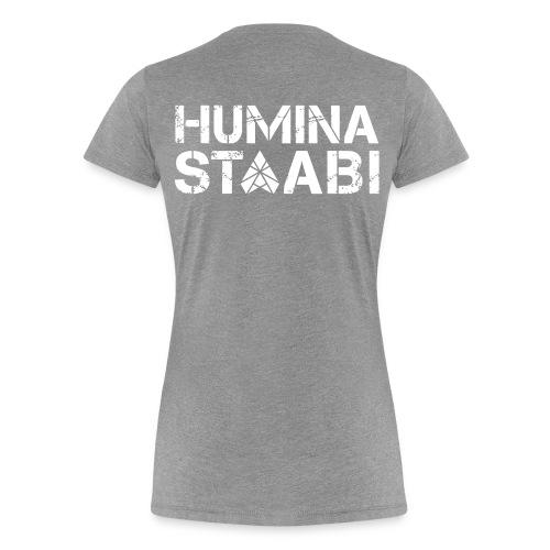 Naisten t-paita Humina - Naisten premium t-paita