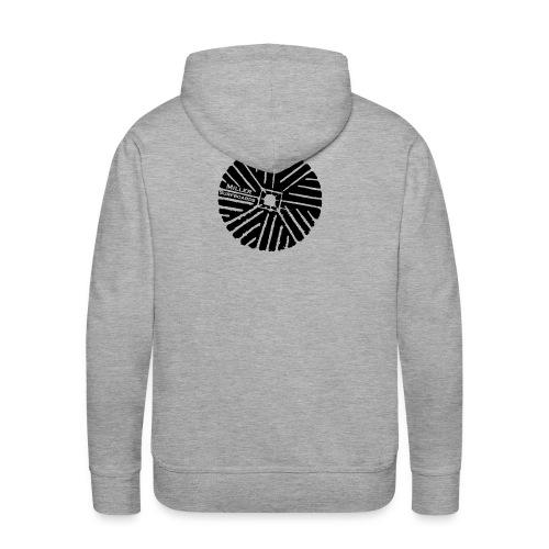 Black logo Hoodie - Men's Premium Hoodie