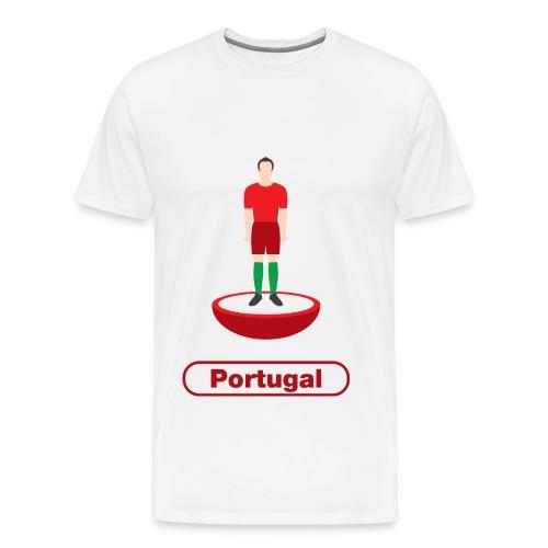 Portugal football - Mens tshirts - Men's Premium T-Shirt