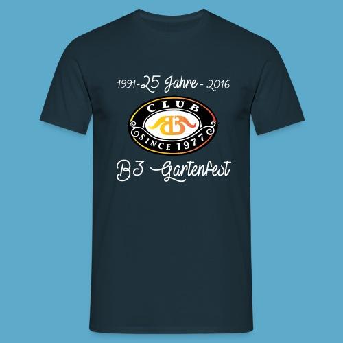 B3-Gartenfest-Leiberl 2016 (verschiedene Farben) - Männer T-Shirt