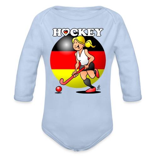 Hockey dam av det tyska landslaget. Babybody - Organic Longsleeve Baby Bodysuit