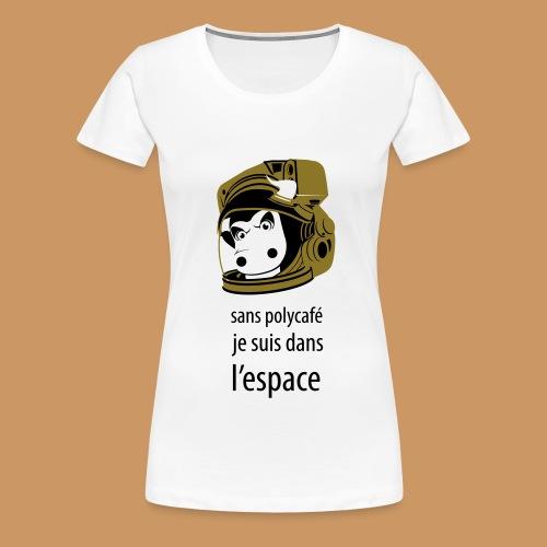 Café - T-shirt Premium Femme