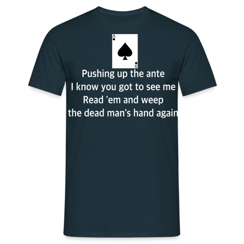 Ace of spades lyrics #2 - Men's T-Shirt