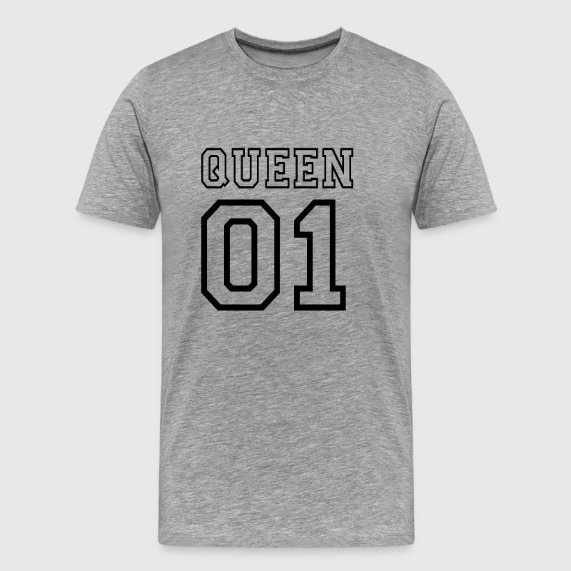 PARTNERSHIRT - QUEEN 01 T-skjorter - Premium T-skjorte for menn