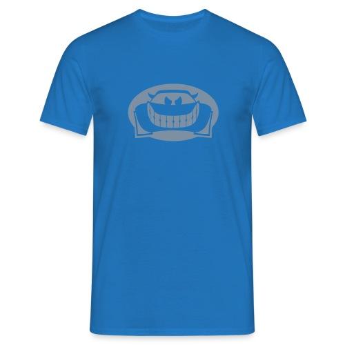 shirt blue silver - Männer T-Shirt