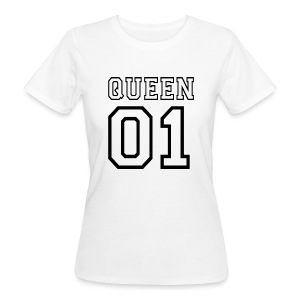quePARTNERSHIRT - Queen 01 T-shirts - Ekologisk T-shirt dam