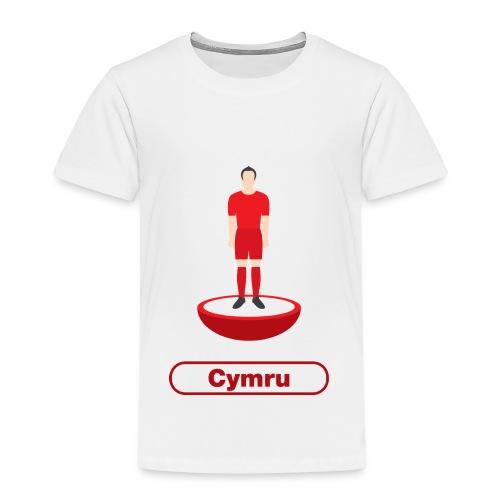 Pêl-droed Cymru - Kids tshirt - Kids' Premium T-Shirt