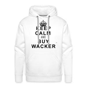 Wacker™ Hoodie- Keep Calm - Männer Premium Hoodie