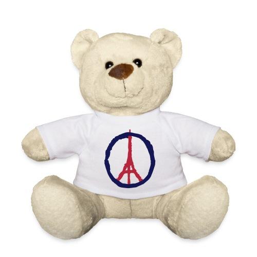 ourson t-shirt blanc logo tour eiffel - Nounours