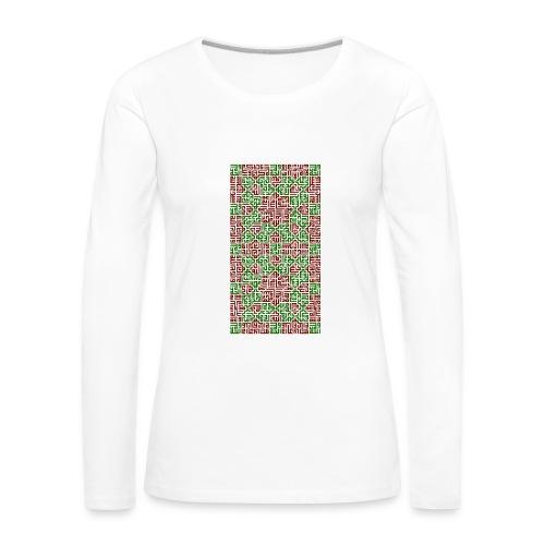 Tasbih RedGreen - T-shirt manches longues Premium Femme