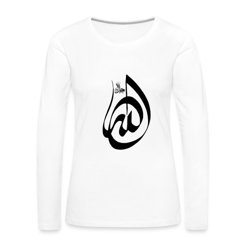 Divine Name - T-shirt manches longues Premium Femme