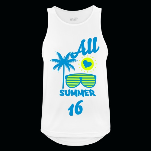 All Summer 16 - Men's Breathable Tank Top