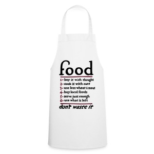Food don't waste it  - Cooking Apron