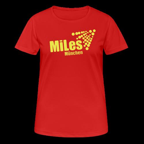 Funktions-Shirt tailliert - Frauen T-Shirt atmungsaktiv
