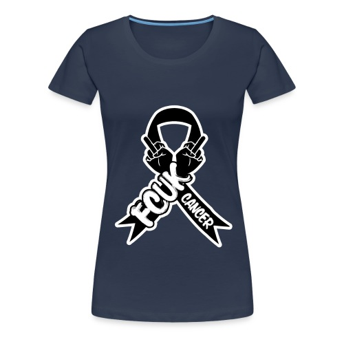 Women's Premium T-Shirt - Profits from All sales goto the NHS cancer unit in Stoke-on-Trent on behalf of the Cotton family