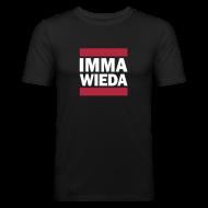 T-Shirts ~ Männer Slim Fit T-Shirt ~ Imma wieda Österreich