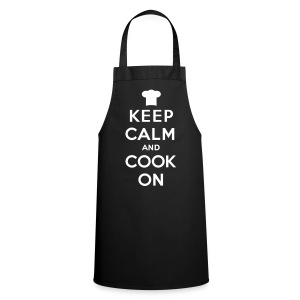 Keep calm & cook on - Cooking Apron
