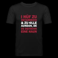 T-Shirts ~ Männer Slim Fit T-Shirt ~ I hüf zu Östarreich