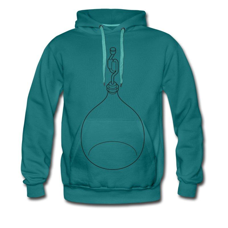 gistingsfles doorzichtig - Mannen Premium hoodie