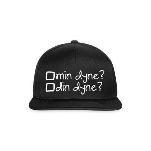 Min dyne eller din dyne? - Snapback Cap