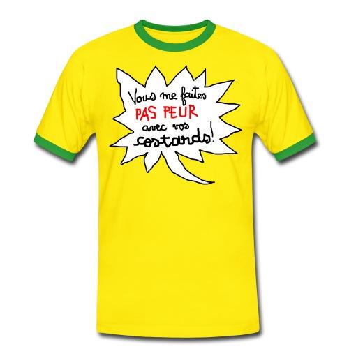 T-Shirt Faraud - T-shirt contrasté Homme