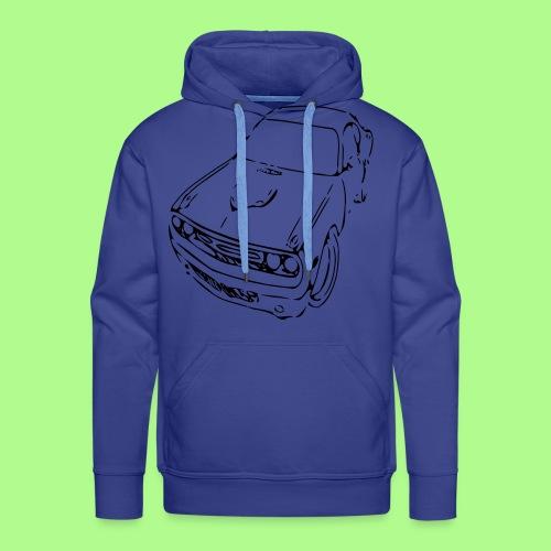 muscle car Hoodie  - Men's Premium Hoodie