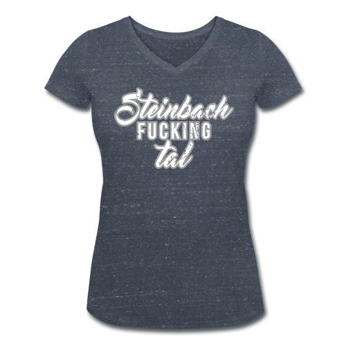 Steinbach fucking tal - Frauen Bio-T-Shirt mit V-Ausschnitt von Stanley & Stella