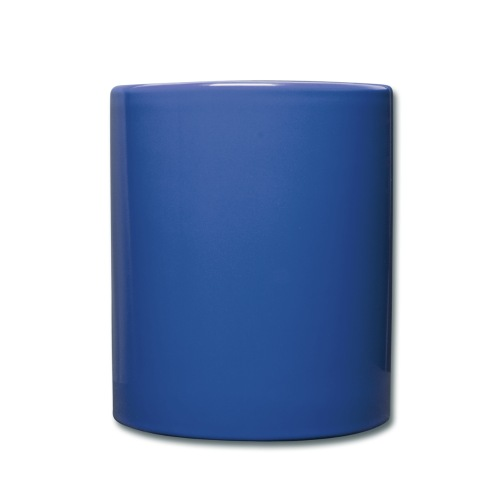 Plain Blue Mug, no text. - Full Colour Mug