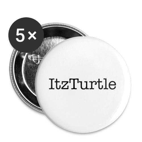 5 ItzTurtle Badges, Really cheap! - Buttons small 25 mm