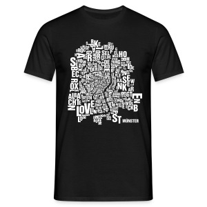 Münster Shirt Black - Male - Männer T-Shirt
