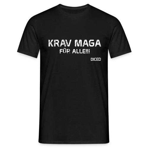 Krav Maga für alle Männer - Männer T-Shirt