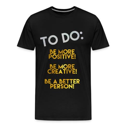 To Do Top (Men) - Men's Premium T-Shirt