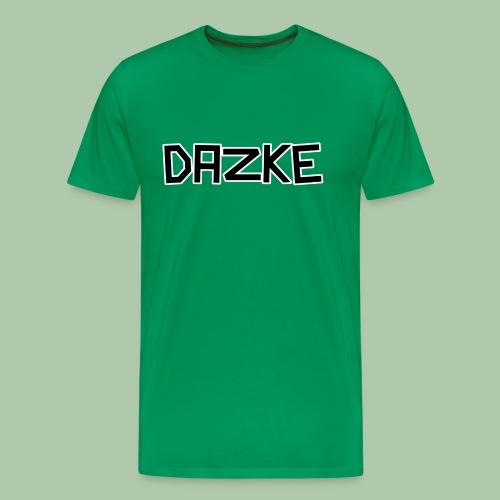 DAZKE Männer Premium T-Shirt - freie Farbwahl - Männer Premium T-Shirt