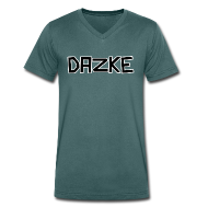 DAZKE Männer T-Shirt mit V-Ausschnitt - freie Farbwahl