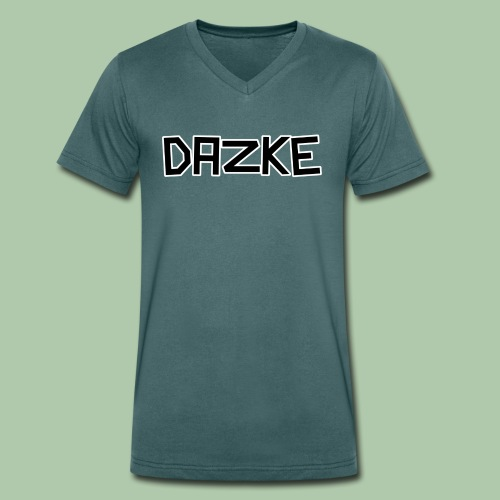 DAZKE Männer T-Shirt mit V-Ausschnitt - freie Farbwahl - Männer Bio-T-Shirt mit V-Ausschnitt von Stanley & Stella
