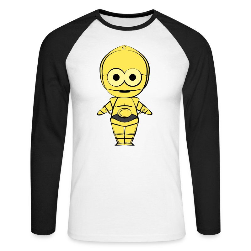 C-3PO - T-shirt baseball manches longues Homme