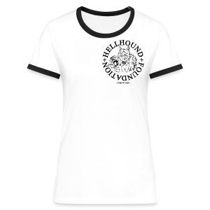 Shirt - Frauen Kontrast-T-Shirt
