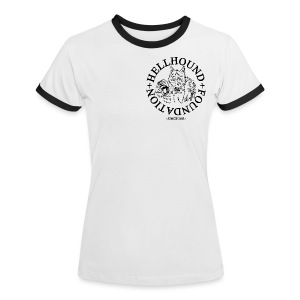 Shirt - Frauen Kontrast-T-Shirt