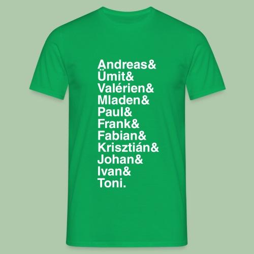 0304& - Männer - T-Shirt - freie Farbwahl - Männer T-Shirt