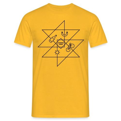 Summer Crime - Männer T-Shirt