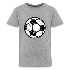 Fußball Teenager T-Shirt (Vintage) - Teenager Premium T-Shirt