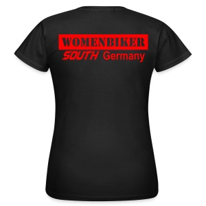 Womenbiker south Germany - Frauen T-Shirt