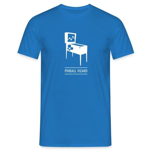 Pinball Vizard Royal Blue Mens - Men's T-Shirt