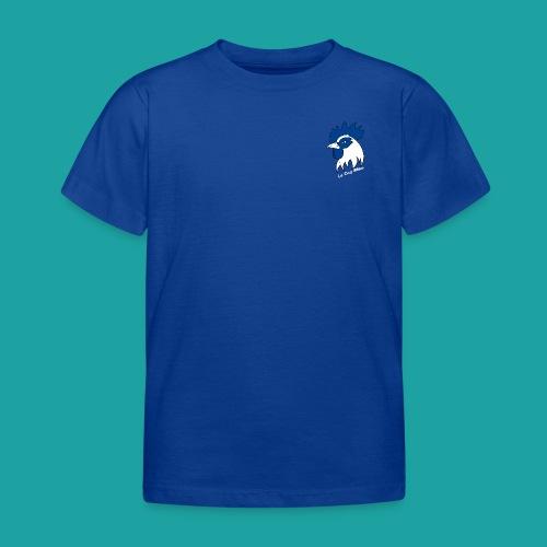 tee-shirt coqbleu bleu roi - T-shirt Enfant