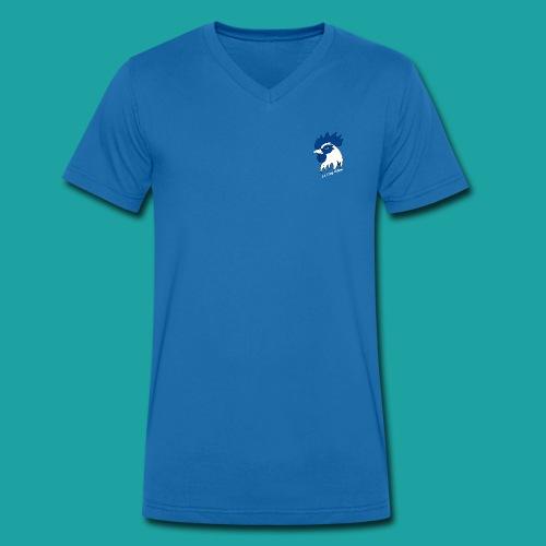 tee-shirt coqbleu - T-shirt bio col V Stanley & Stella Homme