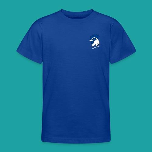 tee-shirt coqbleu bleu roi - T-shirt Ado